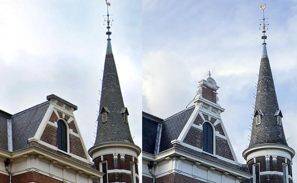 Vernieuwd topgeveltje Remonstrantse Kerk Haarlem biedt mooi 'omhoogkijkmomentje'
