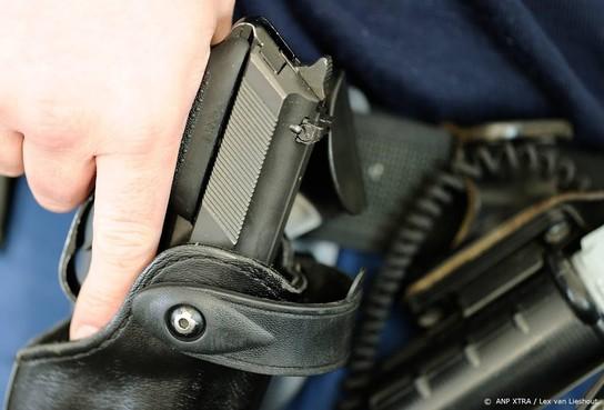 Minder schietincidenten bij politie