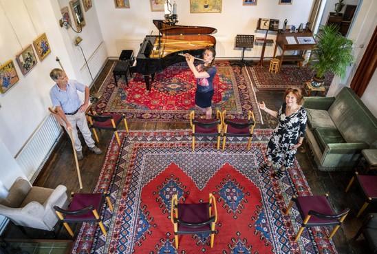 't Mosterdzaadje in Santpoort-Noord gaat weer open: concert, consumptie én mondkapje