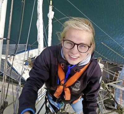 Zeilreis met School at Sea levert Haarlemse Minke (16) een schat aan levenservaring op