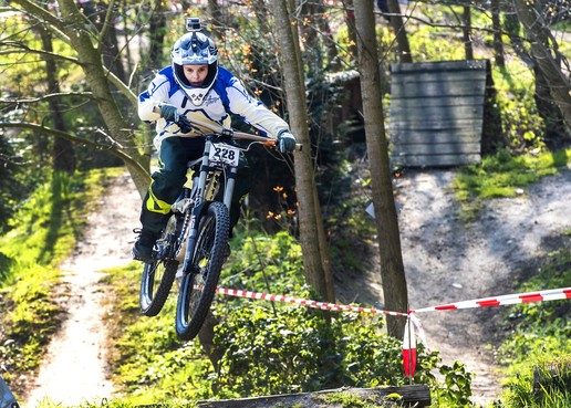 Wolter Wolters wint Mini Downhill Cup in 32,52 seconden
