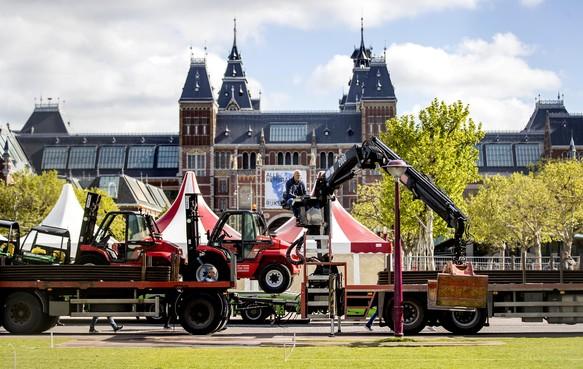 Huldiging Ajax vindt 's middags plaats vanwege veiligheid