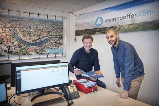 Haarlemse internetpioniers starten 'Uber voor ingrediënten geneesmiddelen'