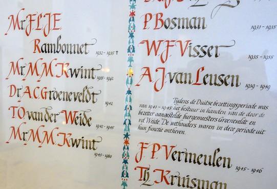 Wending in kwestie vermelding fanatieke Velsense NSB-burgemeester Tjeerd van der Weide: B en W willen plakkaat aanpassen