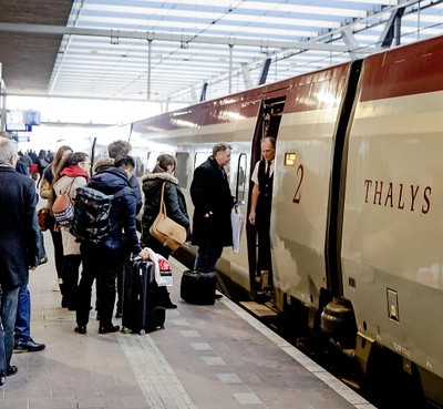 Naar het zuiden is de trein pas echt snel en een concurrent voor het vliegtuig