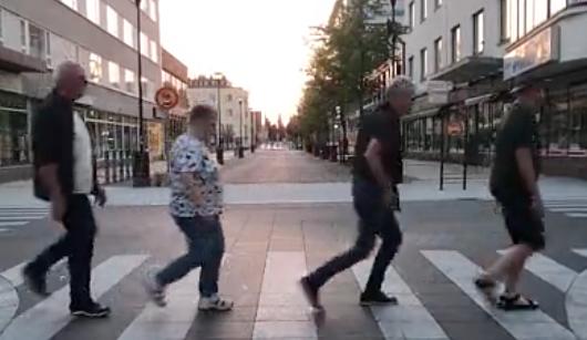 De noordelijkste variant van 'Abbey Road' [video]