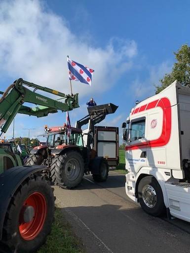 Protesterende boeren: 'Het gaat vandaag niet om het feestje'