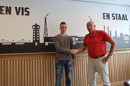 Telstar pikt 17-jarig talent Cas Dijkstra op bij Hollandia
