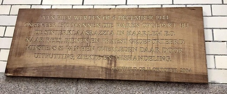 Na 'Sinterklaasrazzia' in Haarlem sprong Dick Drijver uit de trein die naar de hel reed