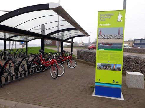 Leenfietsnetwerk in Velsen en Beverwijk