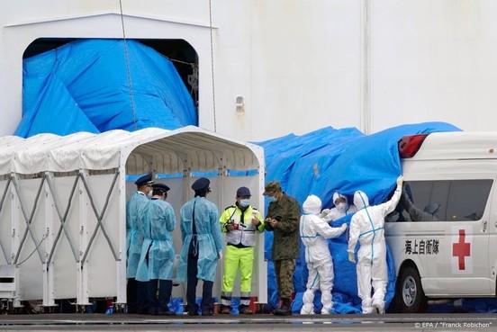 Eerste passagiers hebben quarantaineschip bij Japan verlaten