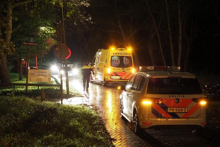 Motorrijder gewond na botsing met hert in Driehuis