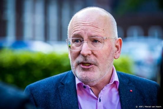 Timmermans positief over agenda Von der Leyen