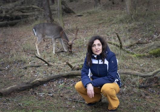 Actievoerster Anita Reerink: 'Afschot herten lost niks op'