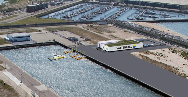 Bedrijfsleven IJmond blij met keuze voor Vattenfall voor exploitatie windpark. 'Dit is nog maar het begin'
