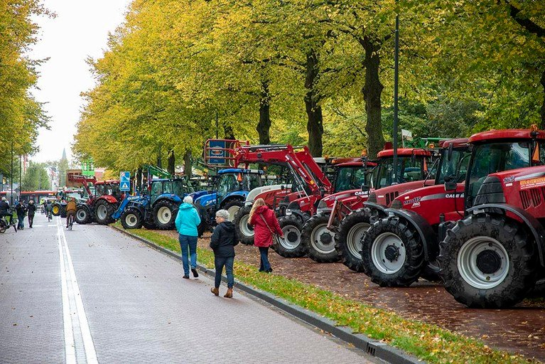 Protesterende boeren willen 'onderdeel zijn voor oplossing stikstofproblematiek'