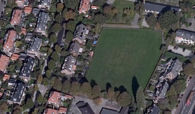 Tumult over tenten op sportveldje in Overveen
