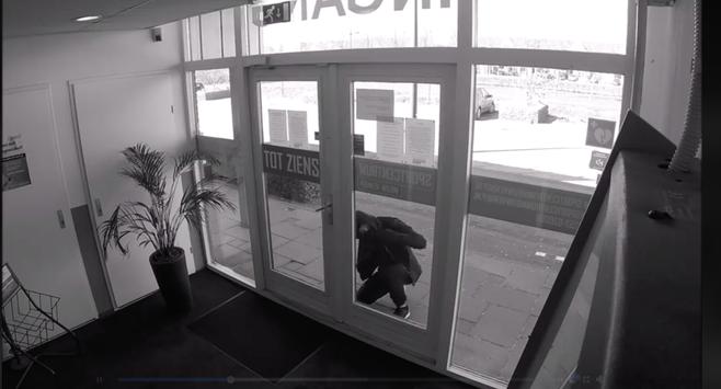 Inbrekers bij Sportcentrum Nieuw-Vennep willen alleen maar trainen [video]