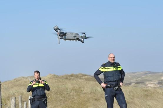 Drones voor controle strandgasten Noord-Holland Noord nog niet ingezet