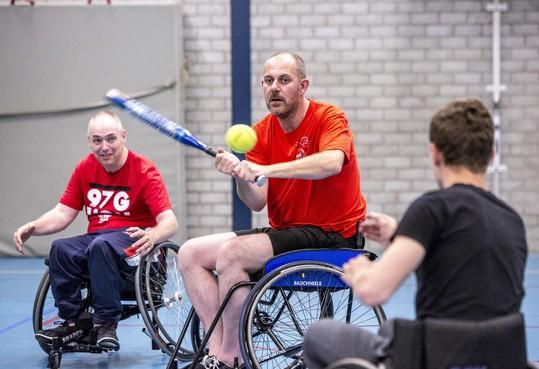 Nu ook rolstoelsoftbal bij Sparks Haarlem