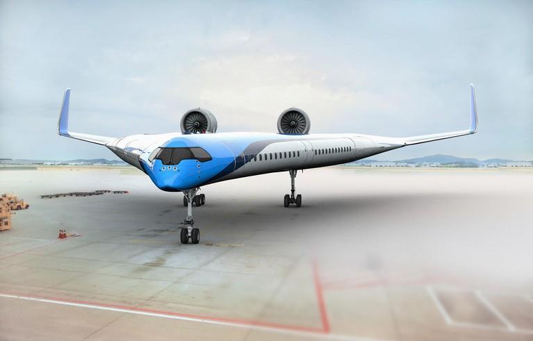 KLM zoekt naar oplossingen in milieudebat zoals de vliegende V [video]