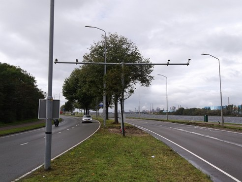 Kentekenregistratiecamera's rond IJmuiden later in gebruik wegens 'praktische en technische bezwaren'
