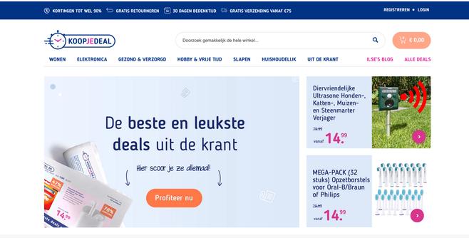Koopjedeal.nl past retourbeleid en bereikbaarheid klantenservice aan