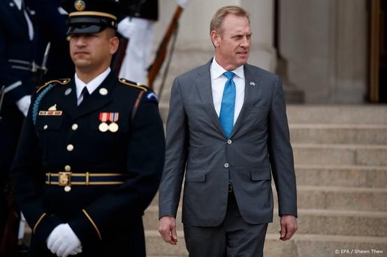 Shanahan weg als minister van Defensie VS