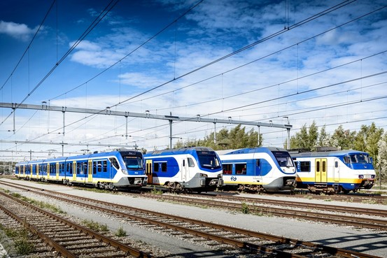 Eerste nieuwe Sprinter rijdt vanaf Haarlem [video]